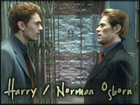 It's never easy - Harry and Norman Osborn