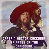 Captain Hector Barbossa - Pirates of the Caribbean